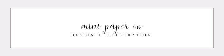 LAUNCH DAY! Mini Paper Co is now open ✧ ☾